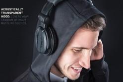Audio Engineer բլուզը թույլ է տալիս կրել ականջակալը գլխանոցի վրայից (վիդեո)