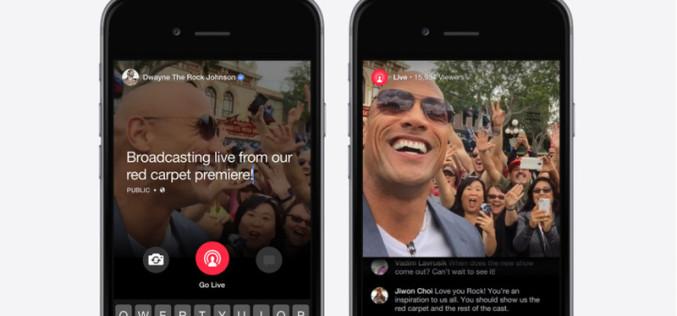 Facebook-ը թողարկել է նոր Live վիդեոսթրիմինգի ծառայություն