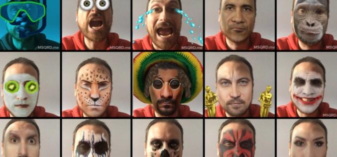 MSQRD. փոխեք Ձեր դեմքը իրական ժամանակում