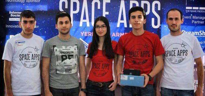 Հայտնի է դարձել Space Apps Challenge 2016-ի հաղթող թիմը