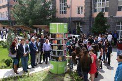 ՀՊՏՀ-ում բացվել է Հայաստանում առաջին QR-գրադարանը