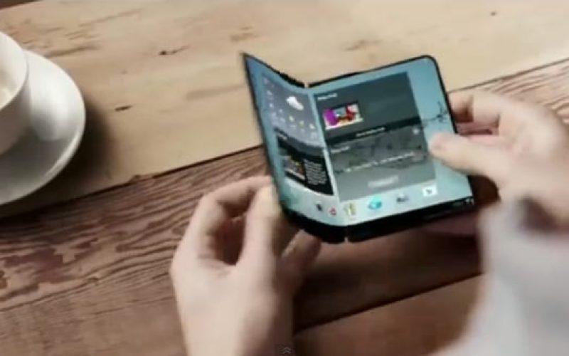 Samsung Display-ը ներկայացրել է OLED ծալվող էկրանը