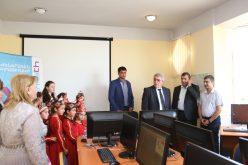 Գյումրիի «Մեղվիկ» մանկապատանեկան կենտրոնում բացվել է «Արմաթ» ինժեներական լաբորատորիա