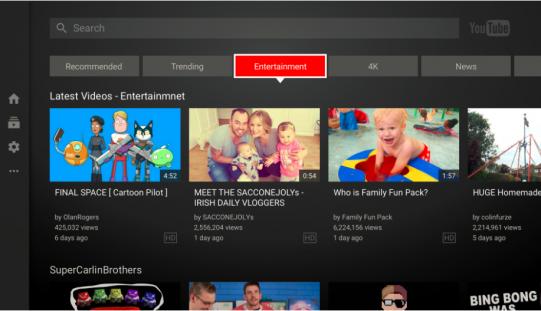 YouTube TV-ի դիզայնը կփոխվի` սմարթ հեռուստացույցներին համապատասխան