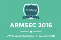 Սեպտեմբերի 17-ին Երևանում կանցկացվի վեբ-անվտանգության ARMSec կոնֆերանսը