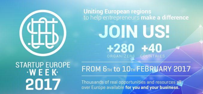 Startup Europe Week 2017-ը Երևանում կանցկացվի փետրվարի 9-ին