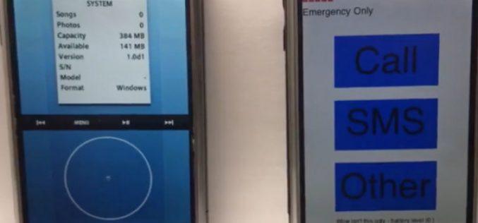 Համացանում հայտնվել է iOS-ի նախատիպերը ներկայացնող տեսանյութ