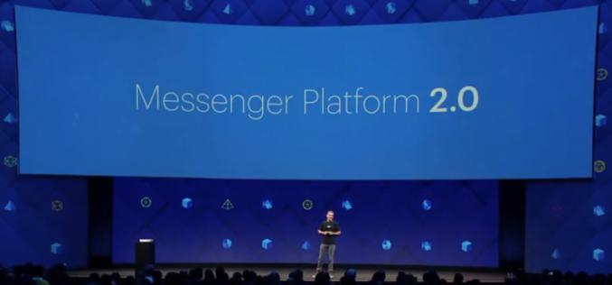 F8 2017 կոնֆերանս. Facebook Messenger-ի բոլոր նորությունները