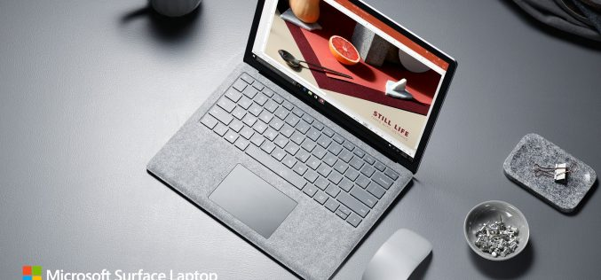 Microsoft Sufrace Laptop. ներկայացվել է Windows 10 S ՕՀ-ով աշխատող առաջին notebook-ը