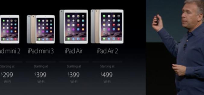 iPad Air-ը, iPad Mini-ն և iPad Mini 2-ը էժանացել են $100-ով