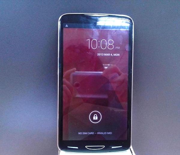 Actwell i6000 первый смартфон с 6 5