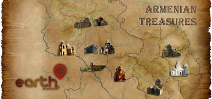 Apple App Store-ում հասանելի է նոր հայկական Armenian treasures հավելվածը