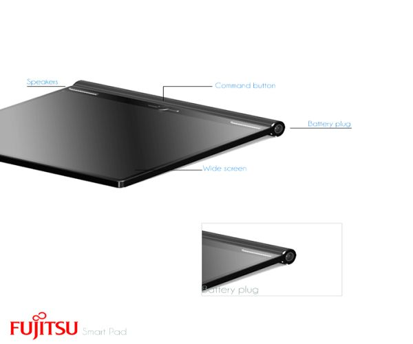 Fujitsu Awards, DesignBoom, A Life with Future Computing, Tablet PC, Design, Concept,