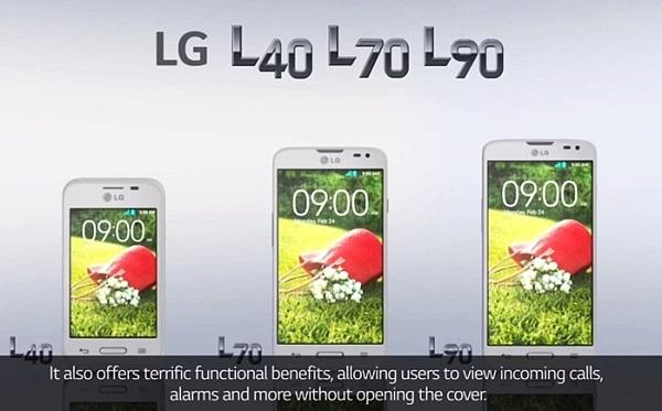 LG L Series III Android KitKat