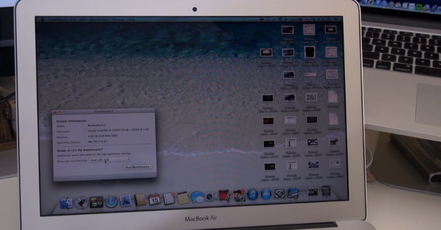 Macbook air 2013 на intel haswell видеообзор