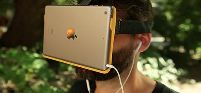 iPad mini-ն վերածել են վիրտուալ իրականության ակնոցի (ֆոտո)