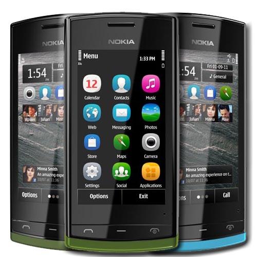 Nokia 500 прошивка модифицированная