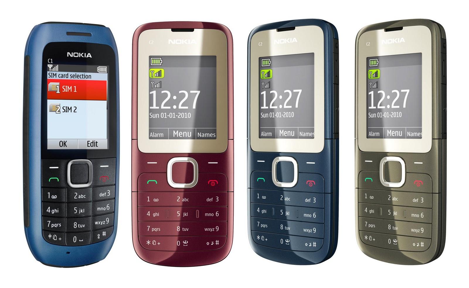 Мобильный телефон бюджетного класса Nokia С2-00 позиционируется как унисекс с двумя сим-картами.