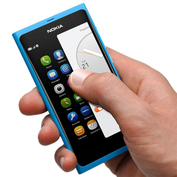 smartphone, Nokia N9, MeeGo,