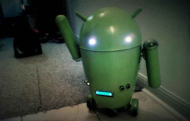 Робота андроида своими руками