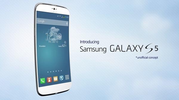 Samsung Galaxy S5 3D render 1