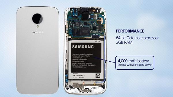 Samsung Galaxy S5 3D render 3