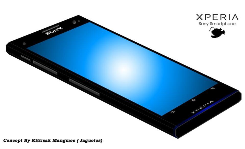 Sony xperia angler концепт смартфона с 4
