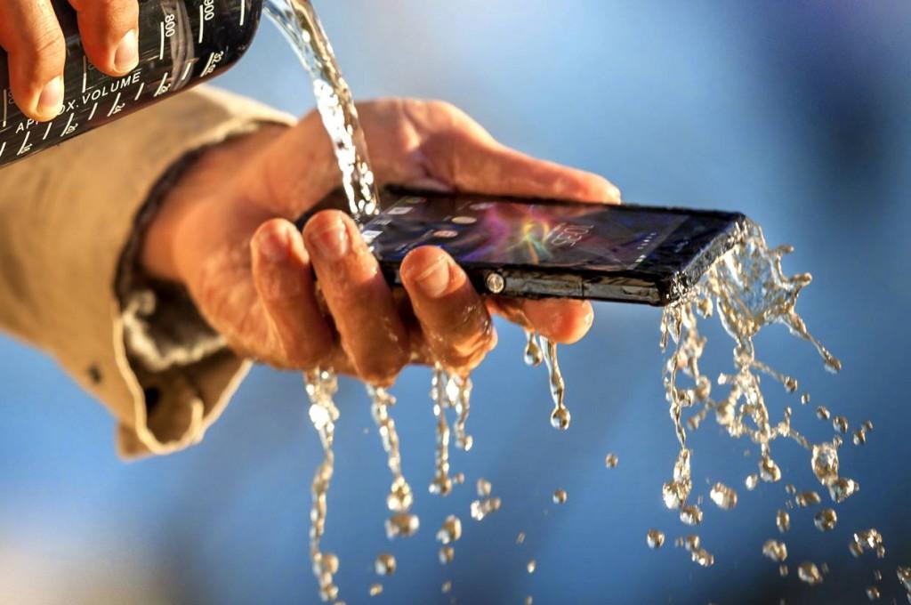 В Sony Xperia Z от используются дисплеи от разных компаний-производителей