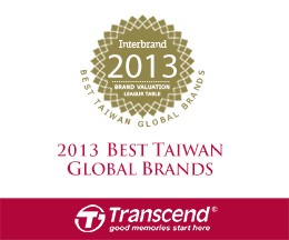 Transcend global brands award 2013