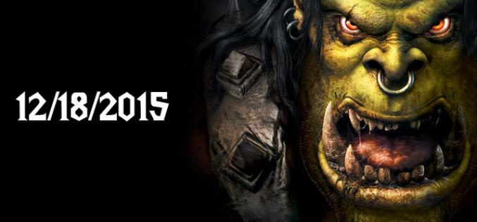"""""""Warcraft"""" ֆիլմը կցուցադրվի 2015 թ. դեկտեմբերի 18-ին"""
