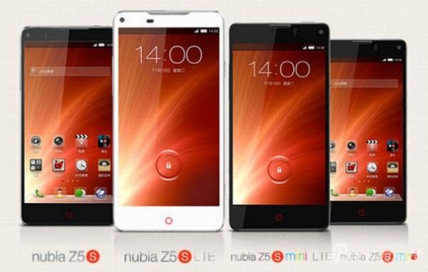 Смартфоны zte nubia z5s и z5s mini представлены