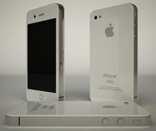 Компании смартфон iphone 4s белого цвета