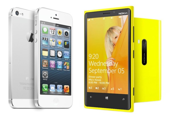 Сравнение iphone 5 и lumia 920 видео