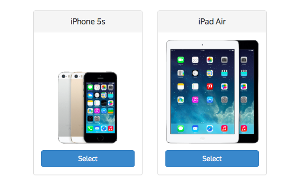 Смартфон iphone 5s и планшет ipad air признаны