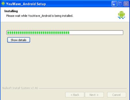 installing WhatsApp on PC 1