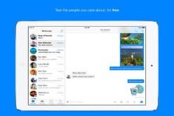 Թողարկվել է Facebook Messenger հավելվածի iPad-ի տարբերակը