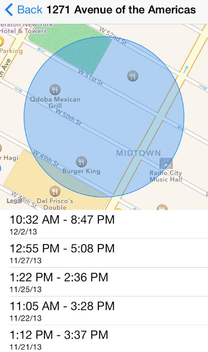 smartphones hiden maps