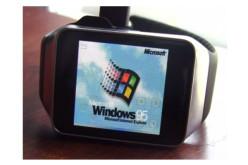 Windows 95-ը տեղադրվել է Samsung Gear Live խելացի ժամացույցների վրա (վիդեո)