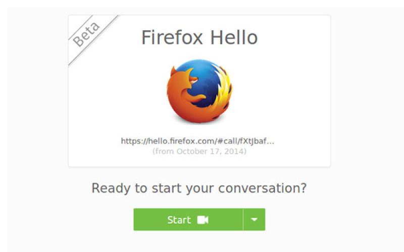 Firefox beta-ում հայտնվել է տեսազանգեր կատարելու հնարավորություն