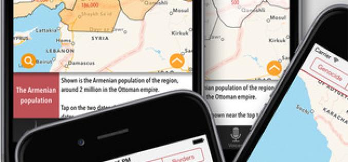 Թողարկվել է Հայոց ցեղասպանության վերաբերյալ բջջային հավելված