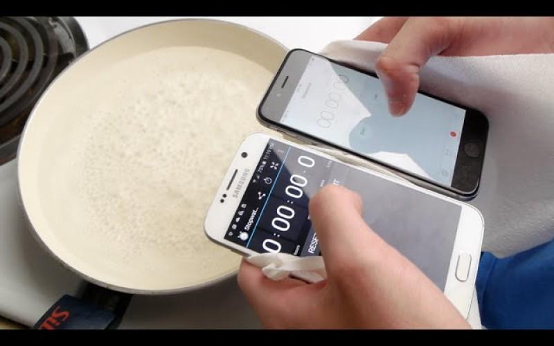 Ճաշ ենք եփում Galaxy S-ով և iPhone 6-ով (տեսանյութ)