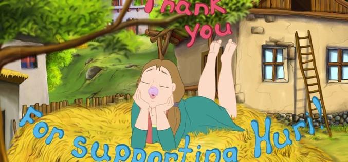 Թողարկվել է «Անբան Հուռին» մուլտֆիլմի պաշտոնական թրեյլերը