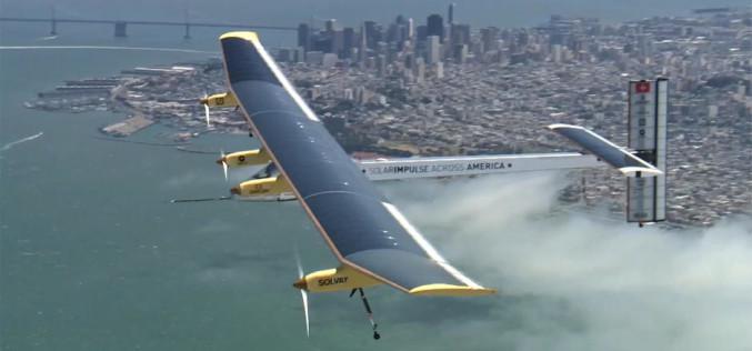 Արևային էներգիայով սնուցվող Solar Impulse 2 ինքնաթիռը մեկնել է հնգօրյա ճամփորդության