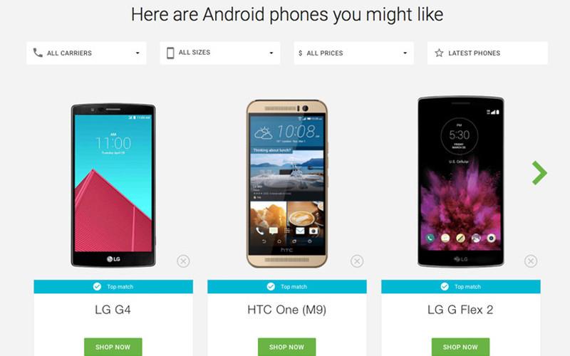 Google-ը կօգնի ընտրել «ճիշտ» սմարթֆոն