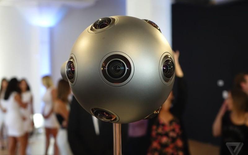 Nokia-ն ներկայացրել է OZO վիրտուալ իրականության տեսախցիկը