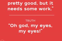 20 պաստառ այն մասին, թե ինչպես են ստում վեբ դիզայներները (ֆոտո)