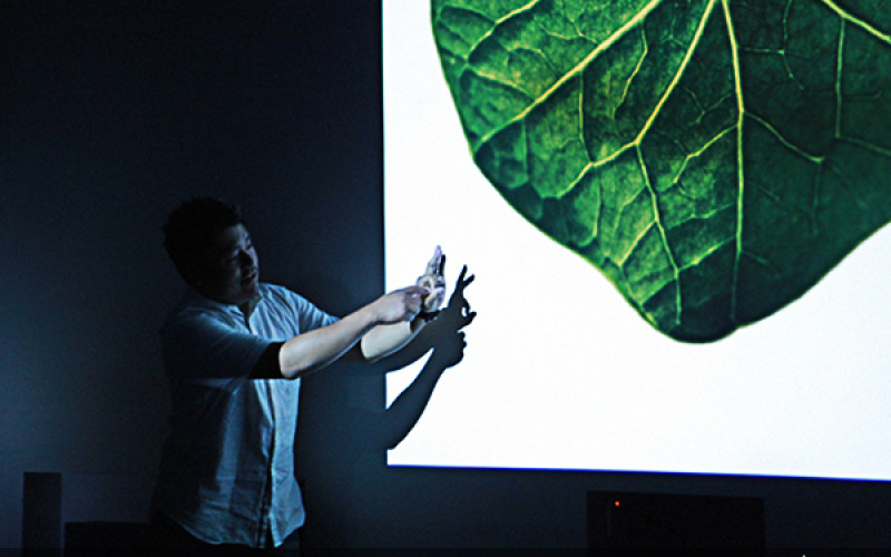 «Ֆոտոլրագրությունից մինչև սնունդ». դասախոսություն Ջոն Լիի հետ
