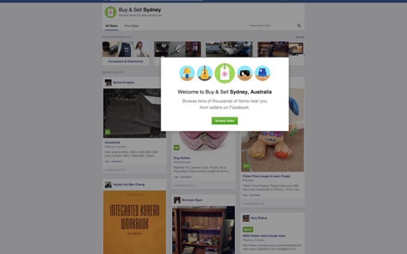 Ցանցում են հայտնվել Facebook-ի ներսում գործող խանութի սքրինշոթներ