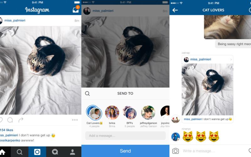 Instagram-ը դարձել է լիարժեք ֆոտոմեսենջեր (տեսանյութ)