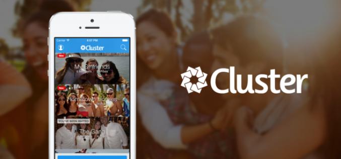 Cluster հավելվածը թույլ է տալիս փոխանակվել անձնական լուսանկարներով